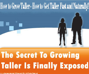 how to become taller fast naturally