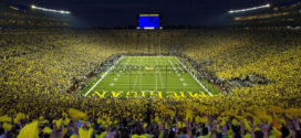 The Michigan Wolverines Football VS. Hawaii Rainbow Warriors